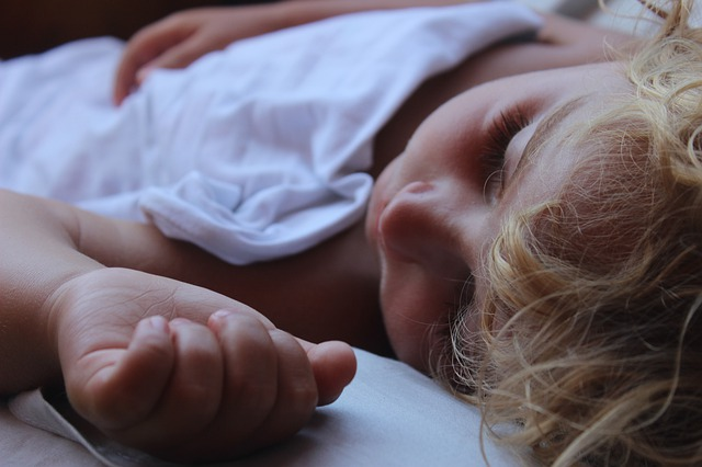 spánek dítěte