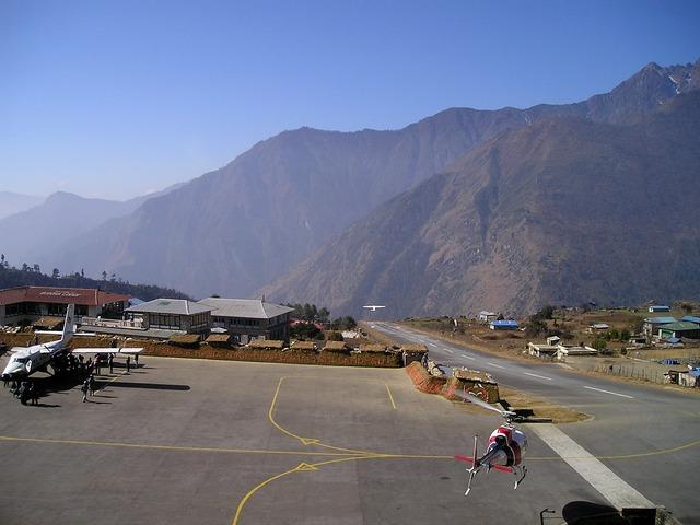 nepál letiště
